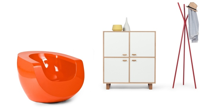 Moon Chair in orange £349 | made.com