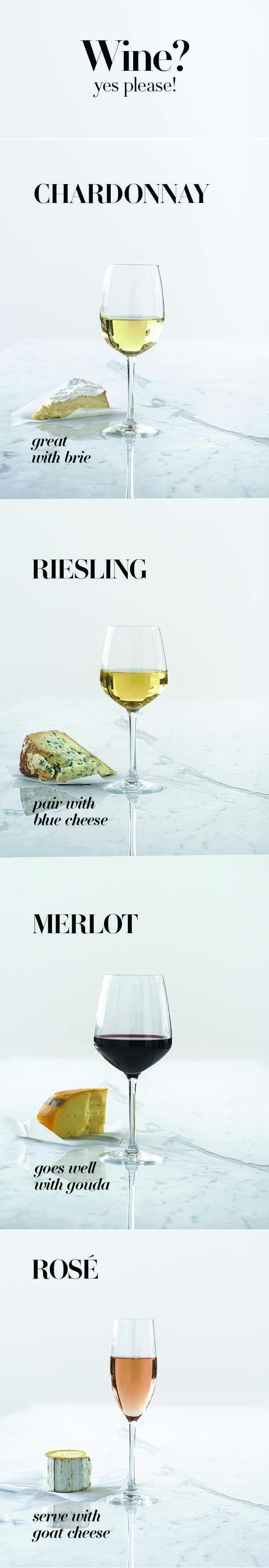Maridajes de vinos blancos y rosados con quesos #WineLovers #AmarasElVino #Wine #WhiteWine