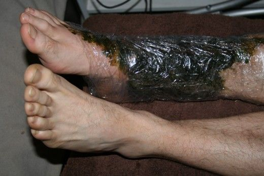 I wrap his ankle in kitchen wrap to keep the comfrey in place and collect the drips. This is a good time to read a book, write a letter or p...
