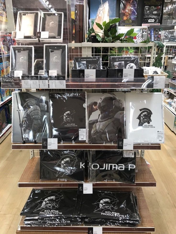 Anyone in Osaka? Kotobukiya Nihonbashi is having Kojima Productions merch for a limited time!