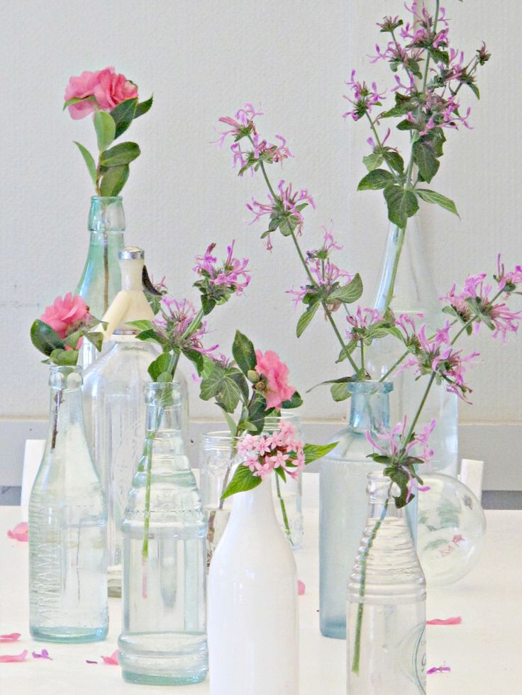 Glass Vase Bottles Jars Pots Jar Glass