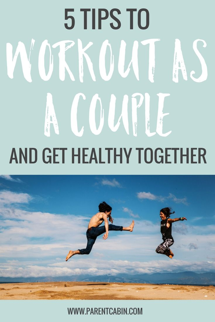 Who better to get your sweat on with than your significant other? Hold each other to your new year's resolution of getting in shape, and try these 5 tips to workout as a couple and get healthy together.