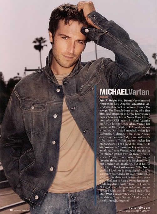 Michael Vartan. oh my WORD.