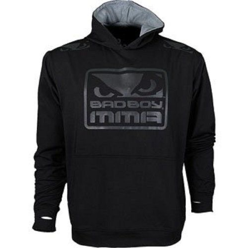 http://www.hotlistsports.com Bad Boy MMA Training Hoodie - Black - L | What The Athletes are Sporting