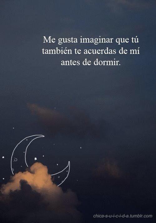 Me gusta imaginar... ♥