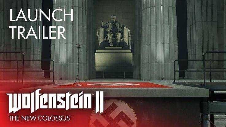 Launch Trailer  Wolfenstein II: The New Colossus http://bit.ly/2lnzap3 #nintendo