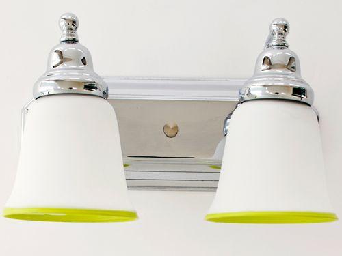 Unique Replacement Globes For Bathroom Light Fixtures: 18 Best Hand Painted Lighting Fixtures Images On Pinterest