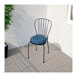 LÄCKÖ Stol, utomhus, grå - - - IKEA