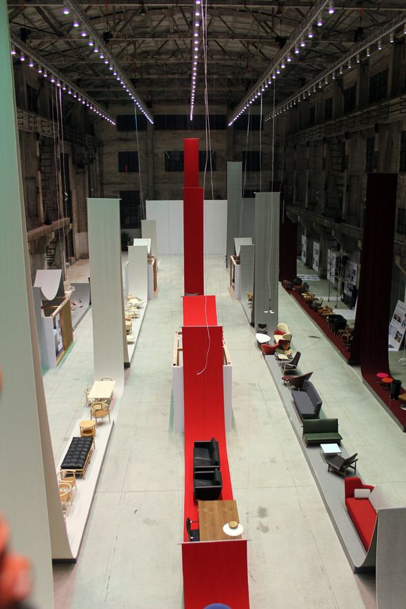 Exhibition Stand Textile : Kvadrat textiles play a significant role in gamfratesi s