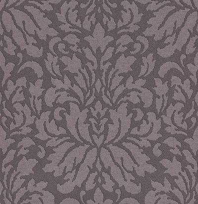 Фото №1: обои фиолетовые с дамаском VEN002 – Ампир Декор