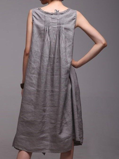 linen dress DETAILS make the dress