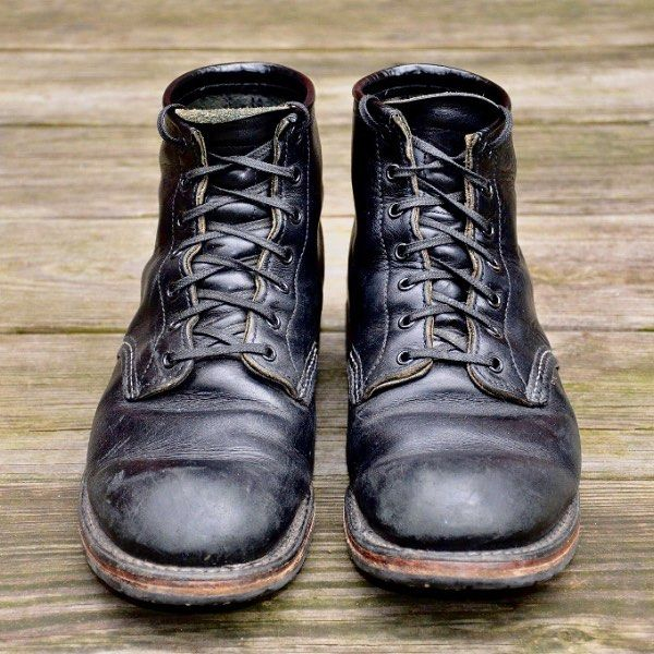 Red Wing Heritage, Beckman 9014 in Black Featherstone