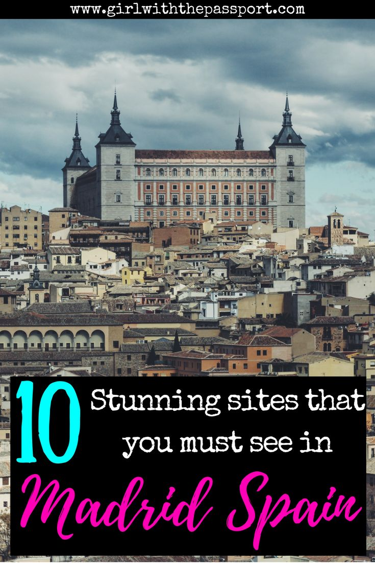 Traveling to Madrid, Spain? Then check out this #madrid bucket list that is filled with all the madrid sites and madrid attractions that you must see. This post gives you madrid travel tips and will help you plan your madrid itinerary while you're in #spain. #europe #travel #wanderlust #budget #backpacker