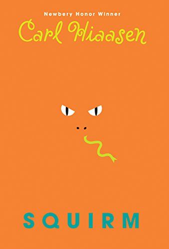 Squirm - Newbery Honor-winning and #1 New York Times bestselling author Carl Hiaasen--beloved for his modern classics like Hoot and Chomp--delivers a wildly entertaining novel involving snakes, grizzlies, a missing dad, a menacing drone, and more!Some facts about Billy Dickens:  *  He ...