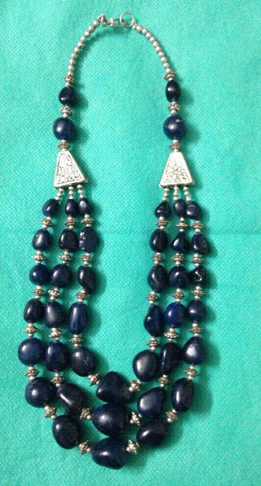 INK Blue...Necklace