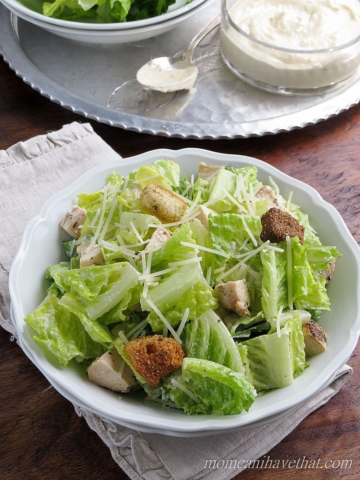 Low Carb Grilled Chicken Caesar Salad with a lemony dressing is a great Summer meal at 3 net carbs! Serve as a low carb appetizer, side dish or  as a meal at lunch or dinner! This yummy salad recipe is also gluten-free and keto.