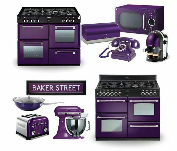Would Love To Have A Kitchen With All Purple Appliances