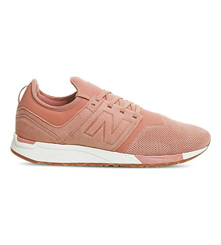 NEW BALANCE 247 classic leather trainers (Clae white