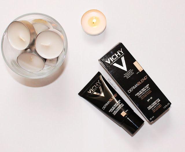 coconikmakeup: Review y demo - Base de maquillaje Correctora DERMABLEND de VICHY