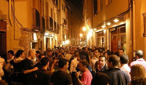 Calle del Laurel, la calle emblematica de tapas de Logroño (La Rioja). Fotos de La Rioja