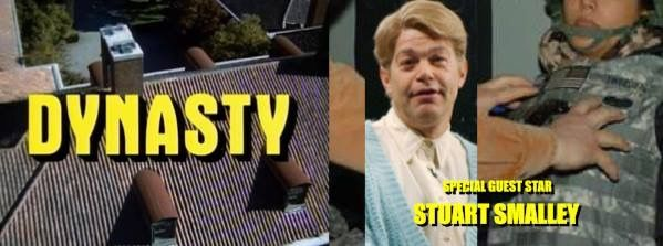 Dynasty guest stars who never happened Stuart Smalley SNL Stuart Saves His Family I'm good enough I'm smart enough and doggone it people like me Al Franken sexual harassment charges