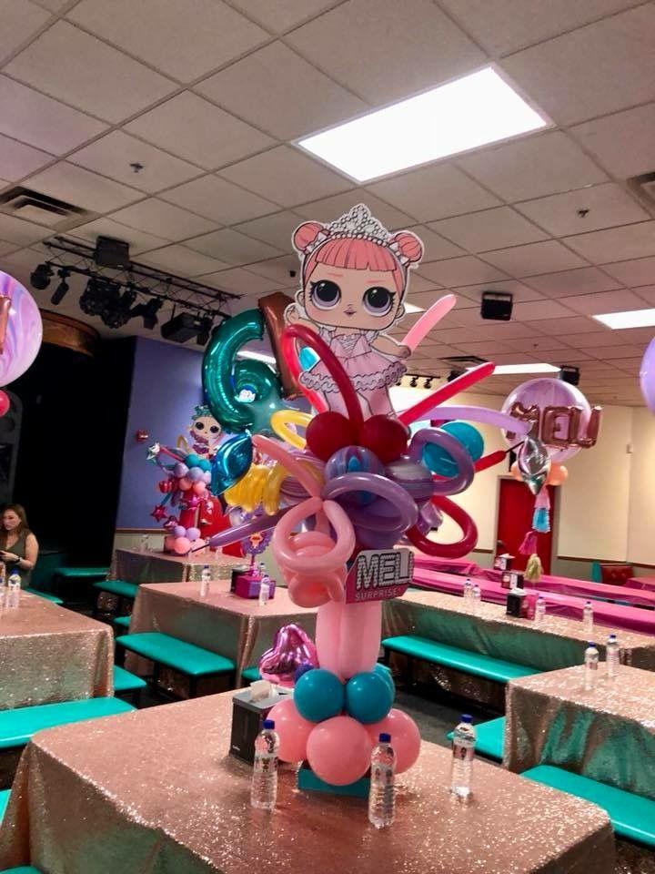 LOL Surprise Doll Centerpiece Party Decoration Unicorn