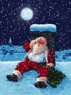 Download Animated 240x320 «Santa Clause» Cell Phone Wallpaper. Category: Holidays