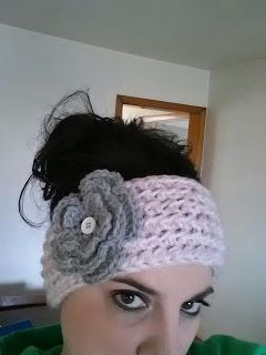 Mill Run Mama: Chunky Crochet Ear Warmer – – – FREE Pattern