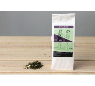 Encanto. El té verde bio de naranja roja de La Colazione.