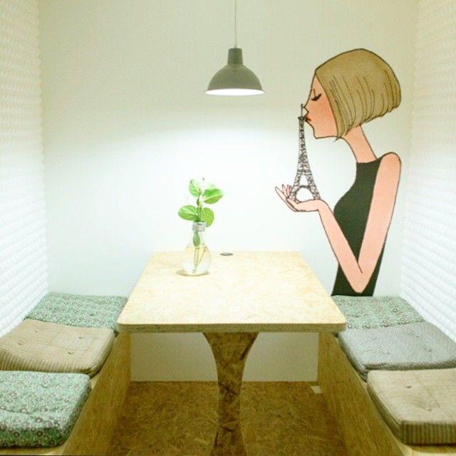 Nos nouvelles salles de réunion : un endroit pour travailler au calme #bureaux #deco #MyLittleOffice