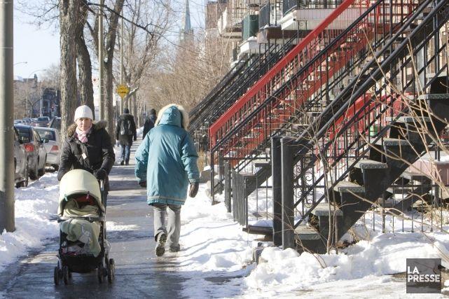 Montreal in winter (PHOTO ARCHIVES LA PRESSE)