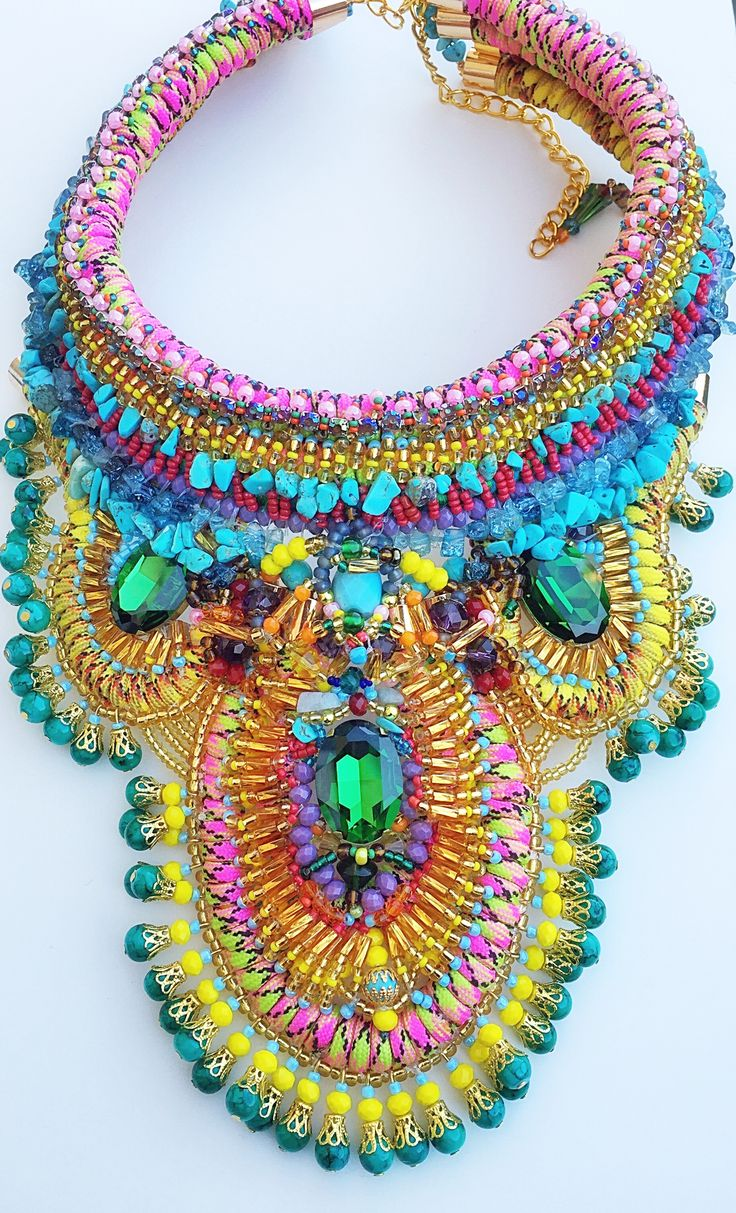 Ovia statement necklace