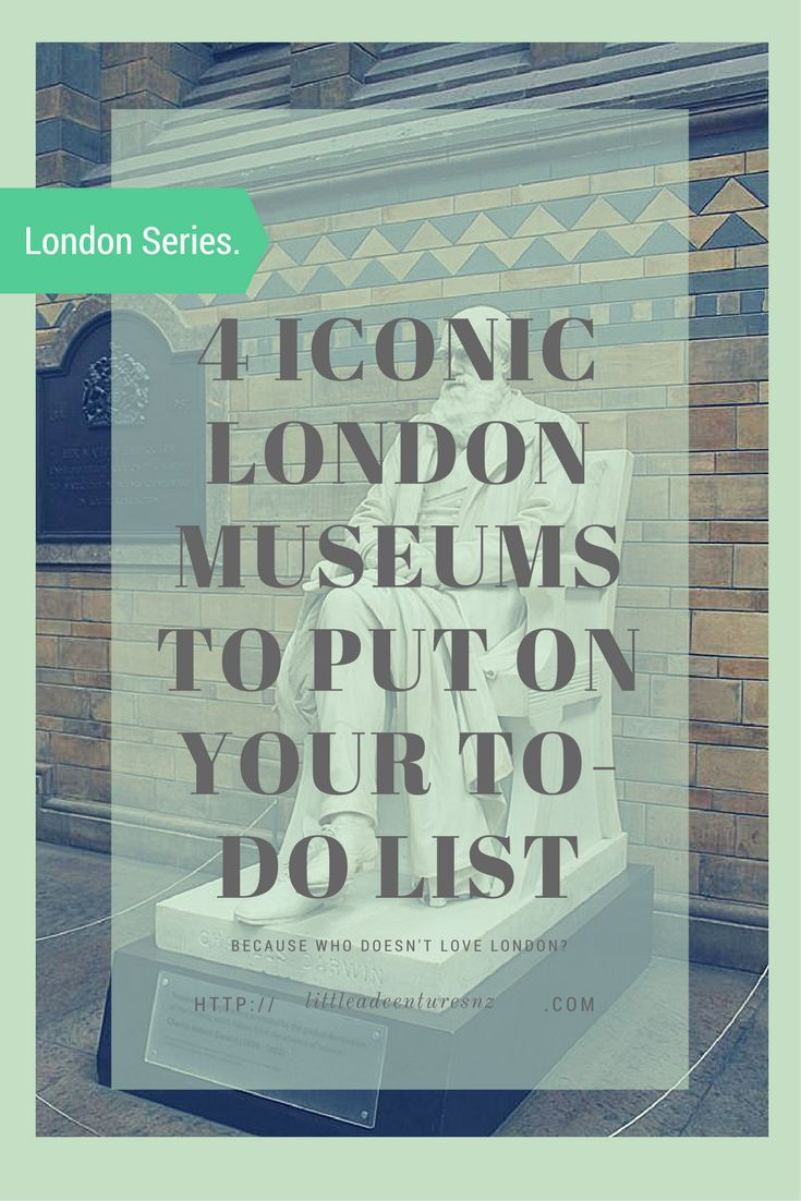 Which museum? London has a plethora of museums to explore. Here are 4 of the most iconic London museums to chuck on your to-do list