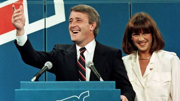 September 4, 1984: Brian Mulroney is elected Prime Minister of Canada.