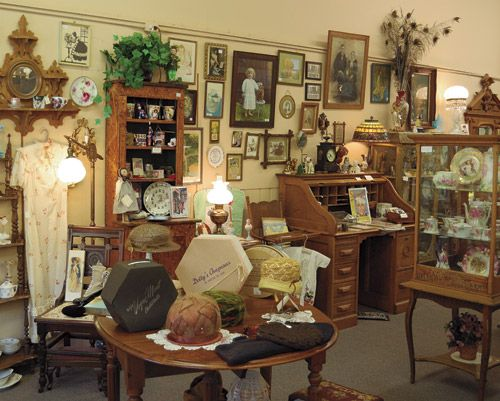 The nostalgic interior of this busy antique shop in St Joseph Michigan was  caputured by photographer - 55 Best Antiquing In Michigan Images On Pinterest Flea Markets