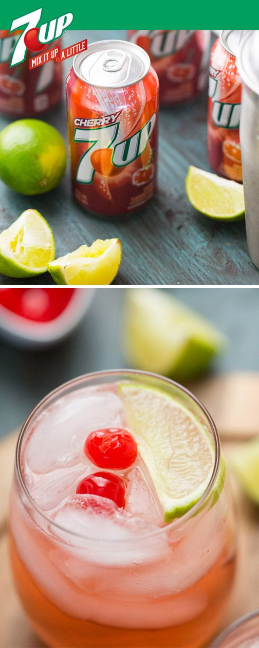 Sour mix, lime, maraschino cherries, and Cherry 7UP are all you need to whip up this delicious Cherry Sour Cocktail recipe. Perfect for any occasion, the best part about this fruity mixed drink isn't the refreshing citrus flavor—it's how easy it is to make. Find all the ingredients you need—as well as party entertaining essentials—at Target! Please drink responsibly. Must be 21 or older to consume alcohol.