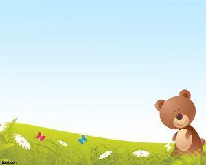 Cartoon Bear PowerPoint