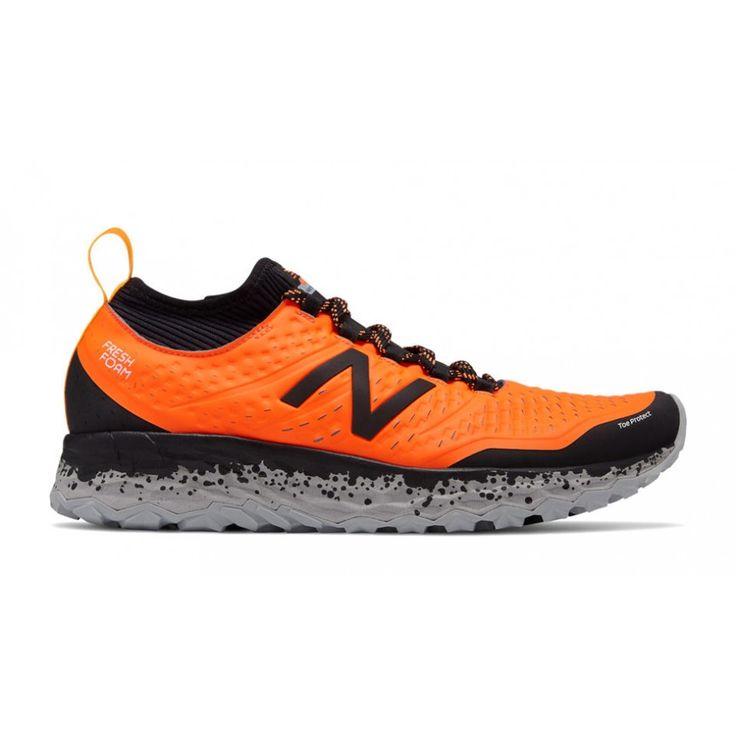 New Balance Hierro V3 Orange Black - Scarpa Trail Running