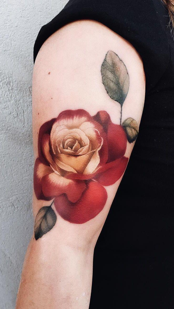 Jaw Dropping Rose Tattoo C Tattoo Artist Pony Wave Tattoos Rose Tattoo Rose Tattoo Cover Up