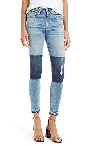 e846da9d4feb SOHO GLAM Womens Skinny Released Hem Ankle Jeans