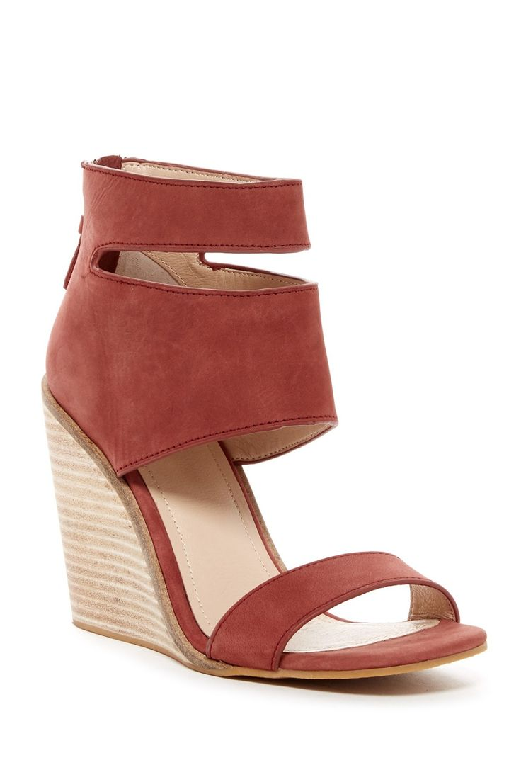 Rose Kelsi Dagger Mackie Wedge Sandals