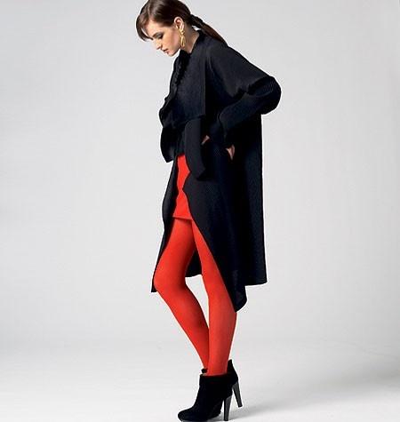 Vogue Patroon Coat