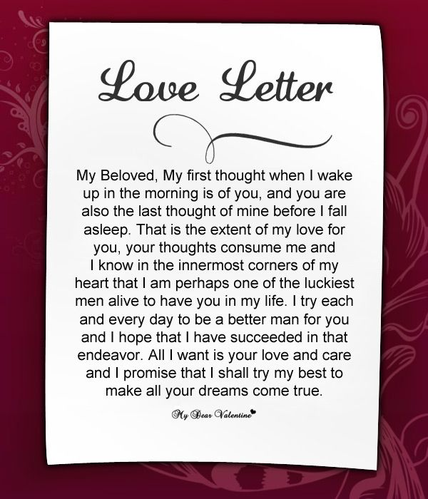 Love Letters for Her #9