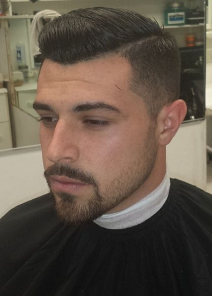 Now that is one clean cut. Perfection. Stylist knows their shit.