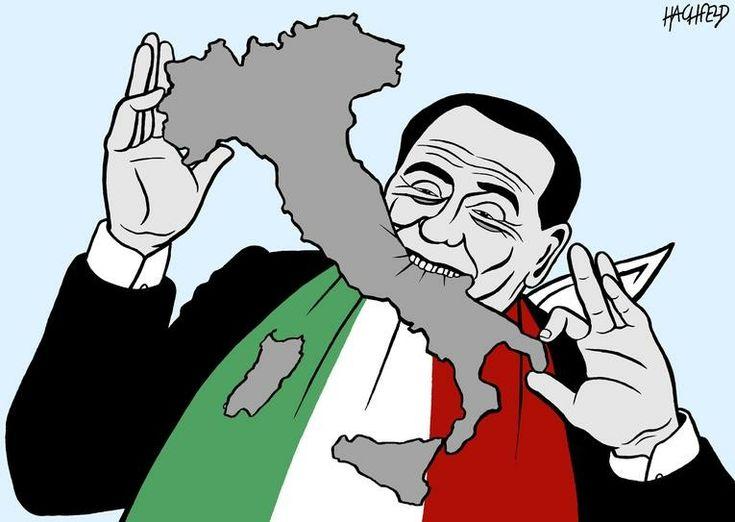 Hachfeld (2018-03-02) Italie: Berlusconi. -->> https://www.courrierinternational.com/dessin/silvio-berlusconi-faiseur-de-roi