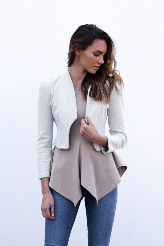 Madison Square Clothing - Rococco Jacket Stone