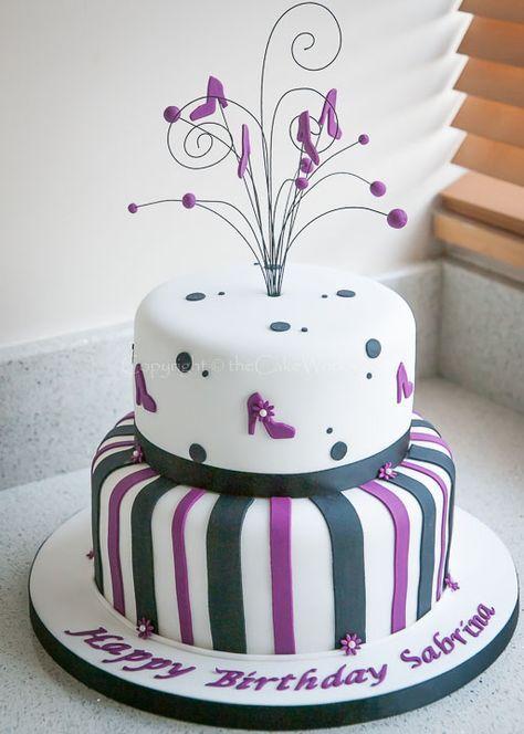 20 Ideen Kuchen Designs für Frauen, Mädchen   – Cake decorating videos