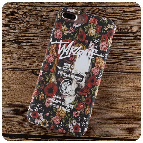 ファッションブランドStussyステューシーiPhone7ケースマット素材浮き彫りアイフォン7plusハードケースおしゃれ男女ペア携帯カバー