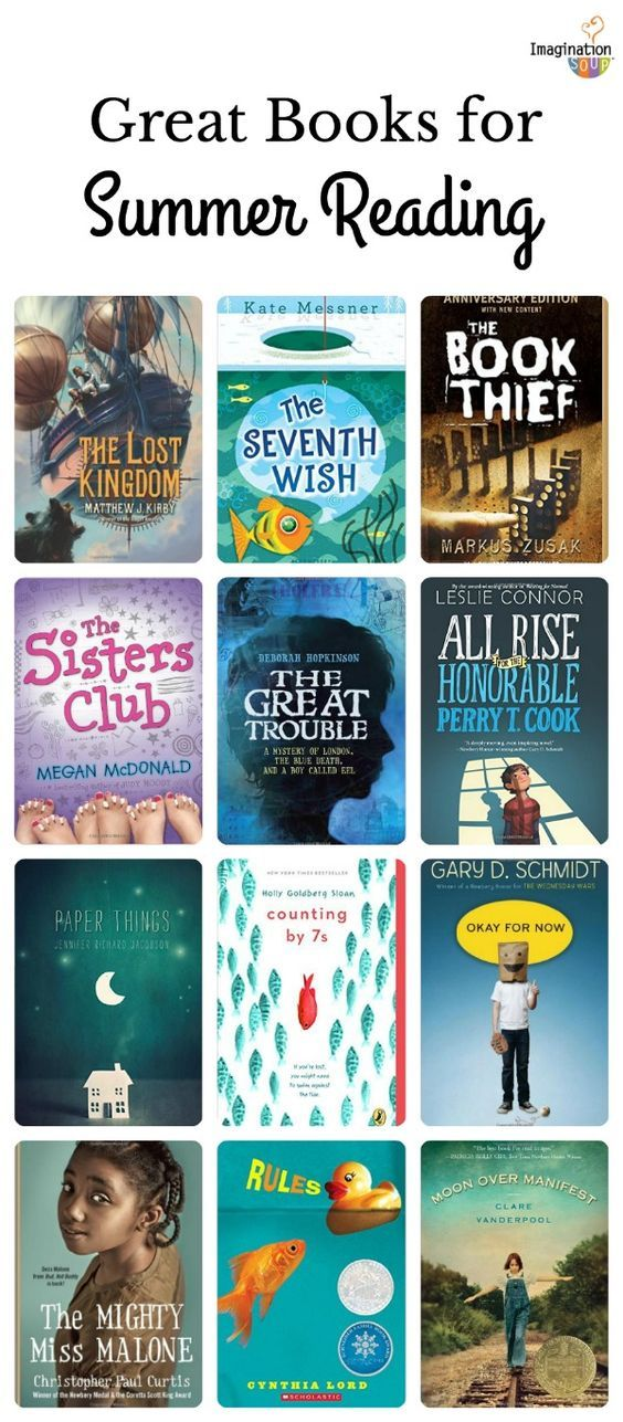 6th Grade Summer Reading List Ages 11 12 Education Book List
