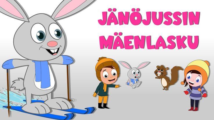 Lastenlauluja suomeksi   Jänöjussin mäenlasku + monta muuta lastenlaulua